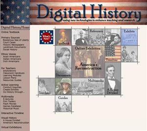 Digital History screenshot