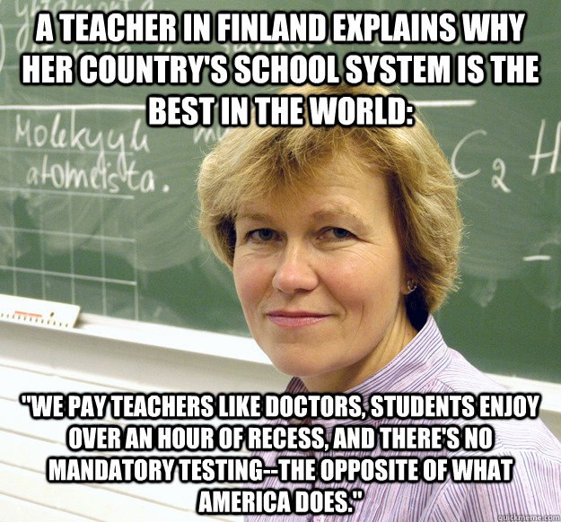 Advice from Finnish teachers