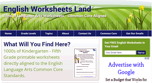 englishworksheetsland Totally 3rd Grade Blog » Blog Archive » High Quality Common Core ...