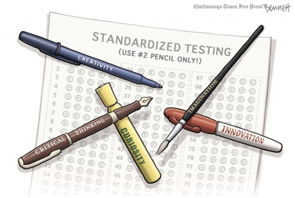 Standardized Testing Fail